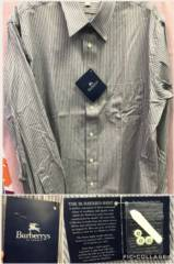 NEW MEN'S Burberry Button Down Shirt_image