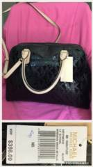 NEW Micheal Kors Black Handbag_image