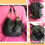 Leather Michel Kors Handbag_image